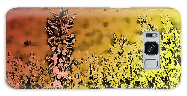 Texas Yucca Flower Galaxy Case