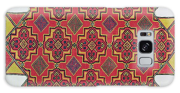 Tapestry Galaxy Case - Textile With Geometric Pattern by Moroccan School