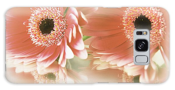 Textured Floral Artwork Galaxy Case by Eden Baed