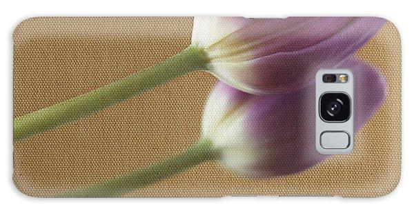 Textured Purpletulip Galaxy Case by Eden Baed