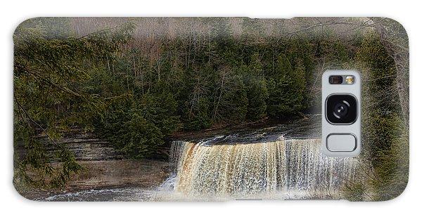 Textured Tahquamenon River Michigan Galaxy Case