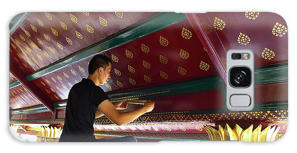 Thai Artisan At Work Galaxy Case