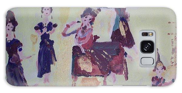 Thai Dance Galaxy Case by Judith Desrosiers
