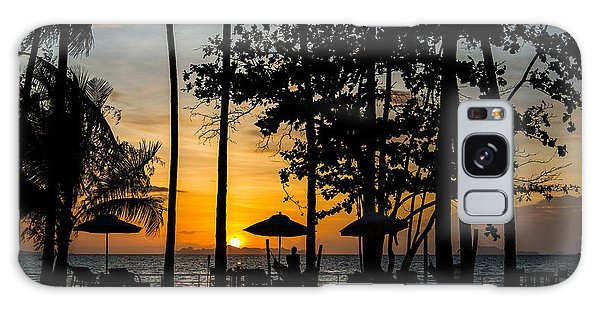 Thailand Sunset Galaxy Case by Mike Lee