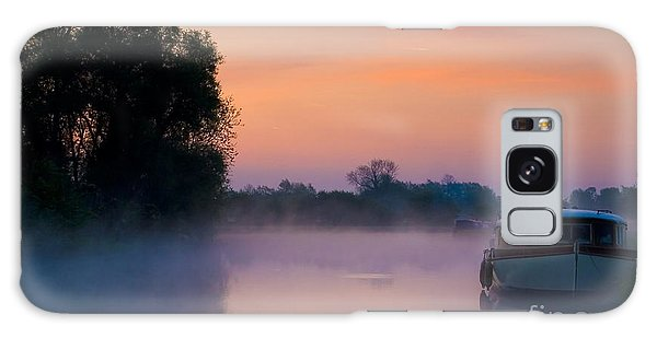 River Thames At Dawn  Galaxy Case