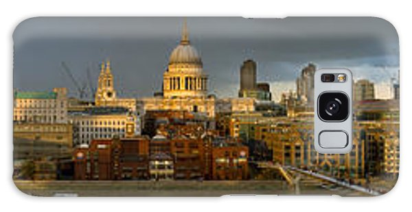 Thames With St Paul's Panorama Galaxy Case