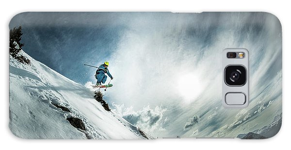 French Galaxy Case - Tha??o De La Soujeole At Home In Flaine by Eric Verbiest