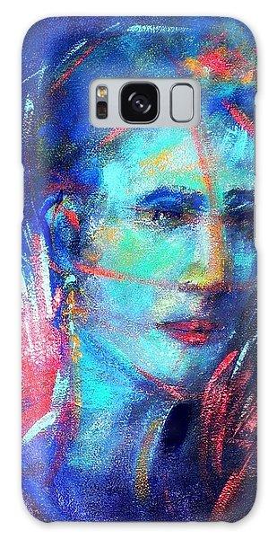 That Moment Galaxy Case by Jodie Marie Anne Richardson Traugott          aka jm-ART