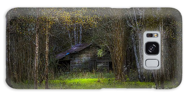 Fence Post Galaxy Case - That Old Barn by Marvin Spates
