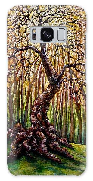 That Old Tree Galaxy Case by Sebastian Pierre