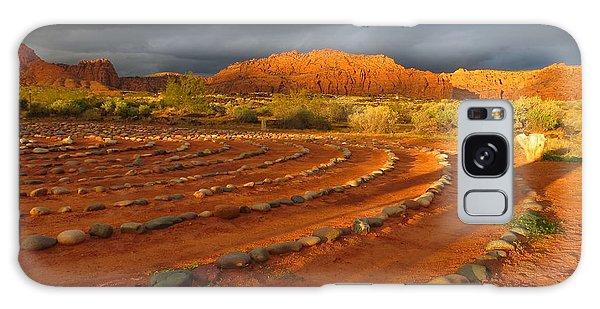 St George, Utah Galaxy Case by Jean Marie Maggi