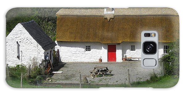Thatched Cottage Galaxy Case