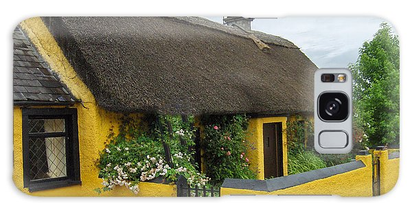 Thatched House Ireland Galaxy Case by Brenda Brown