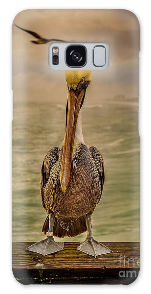 That's Mr. Pelican To You Galaxy Case by Steven Reed