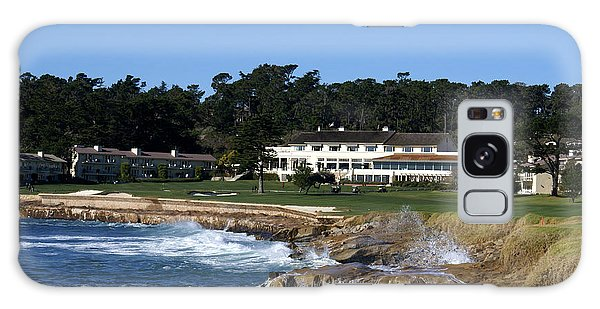 The 18th At Pebble Beach Galaxy Case by Barbara Snyder
