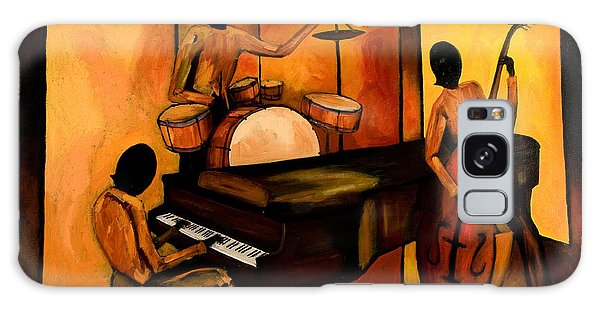 Drum Galaxy S8 Case - The 1st Jazz Trio by Larry Martin