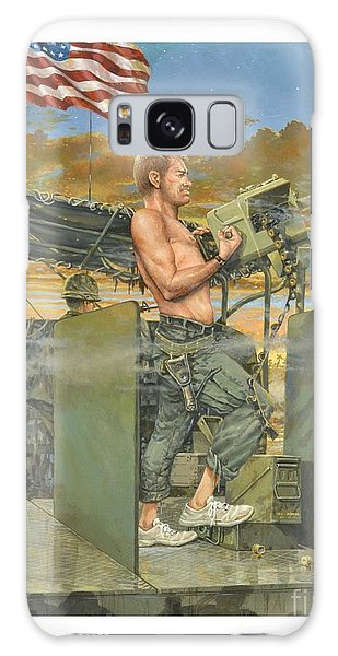 The 458th Transortation Co. In Vietnam. Galaxy Case by Bob  George