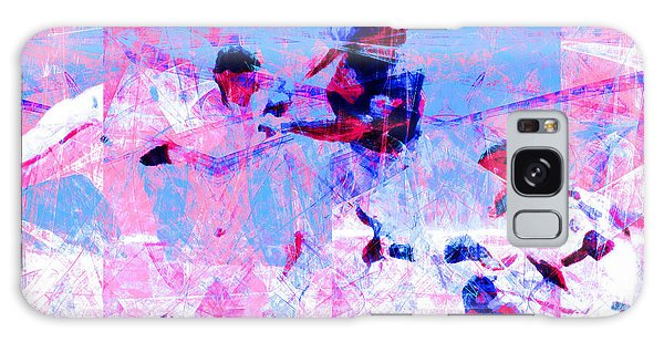 Brooklyn Dodgers Galaxy Case - The All American Pastime 20140501 V2 by Wingsdomain Art and Photography