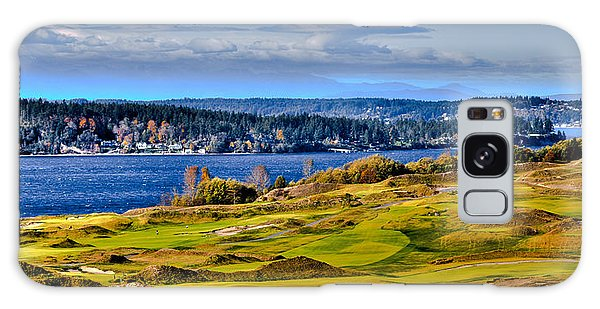 The Amazing Chambers Bay Golf Course - Site Of The 2015 U.s. Open Golf Tournament Galaxy Case