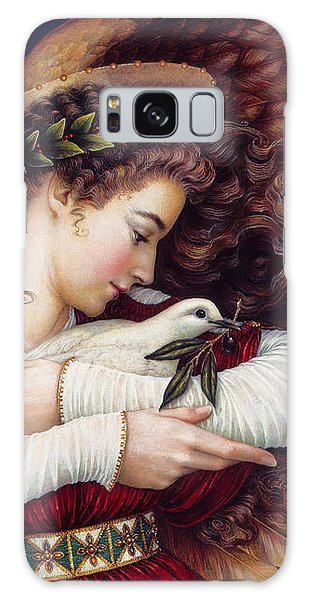 Angel Galaxy Case - The Angel And The Dove by Lynn Bywaters