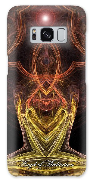 The Angel Of Meditation Galaxy Case