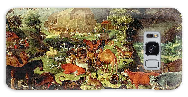 Ostrich Galaxy Case - The Animals Entering The Ark by Jacob II Savery