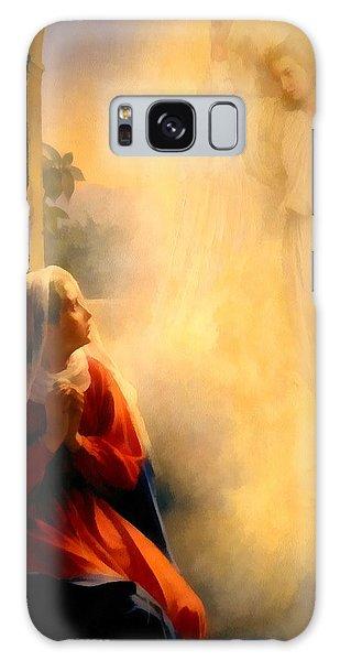 Annunciation Galaxy Case - The Annunciation by Carl Bloch
