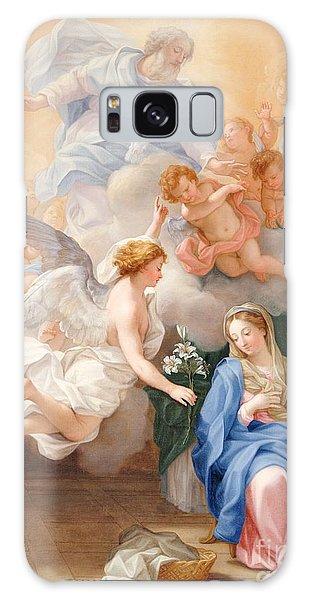 Annunciation Galaxy Case - The Annunciation by Giovanni Odazzi