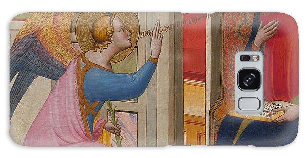Annunciation Galaxy Case - The Annunciation by Master of Saint Verdiana