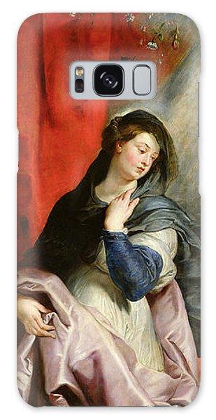 Annunciation Galaxy Case - The Annunciation by Peter Paul Rubens