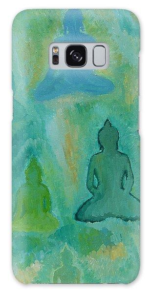 Buddhas Appear Galaxy Case