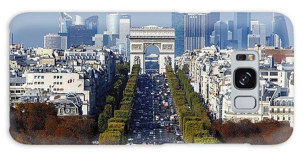 The Arc De Triomphe Paris France Galaxy Case