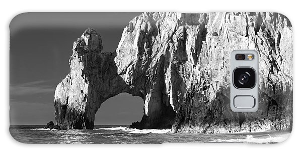 The Arch Cabo San Lucas In Black And White Galaxy Case