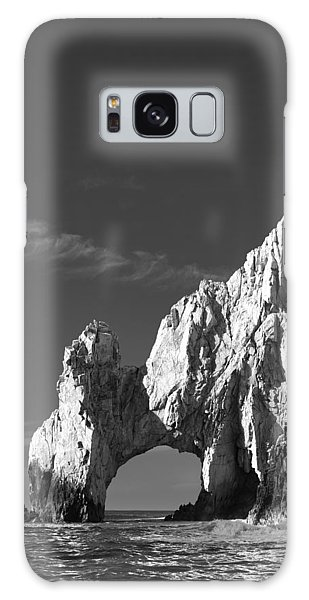 The Arch In Black And White Galaxy Case