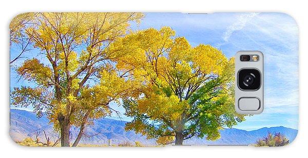 The Aura Of Autumn Galaxy Case