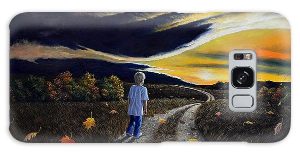 The Autumn Breeze Galaxy Case