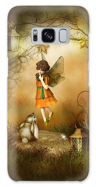 The Autumn Fairy Galaxy Case by Jayne Wilson