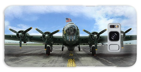 The B17 Flying Fortress Galaxy Case by Rod Seel