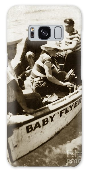 The Baby Flyer With Ed Ricketts And John Steinbeck  In Sea Of Cortez  1940 Galaxy Case