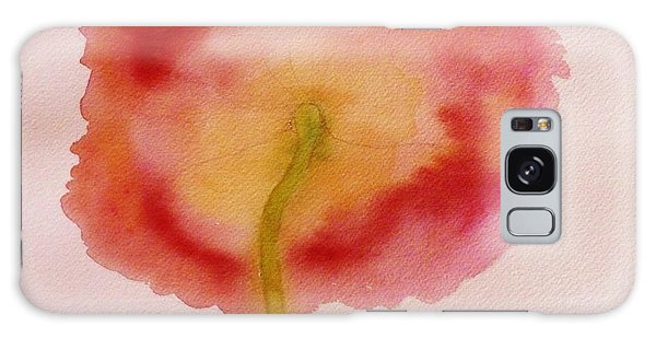 The Back Side Of A Poppy Galaxy Case by Ann Michelle Swadener