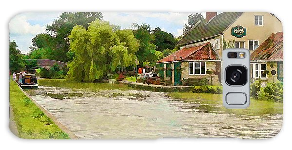 The Barge Inn Seend Galaxy Case
