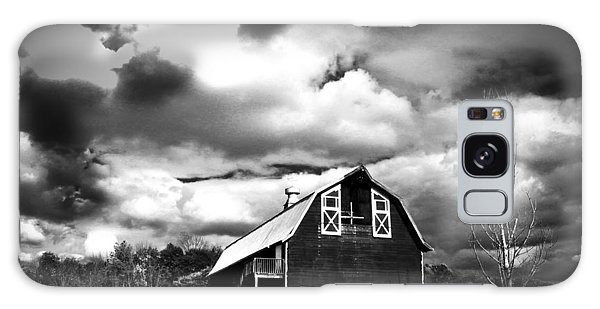 Galaxy Case - The Barn Before The Storm by Frank Savarese