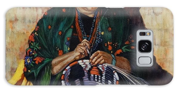 The Basket Weaver Galaxy Case by Charles Munn