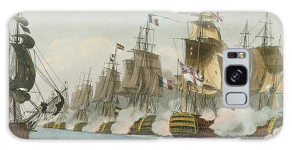 Cannon Galaxy Case - The Battle Of Trafalgar by Thomas Whitcombe