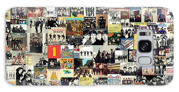 The Beatles Collage Galaxy Case