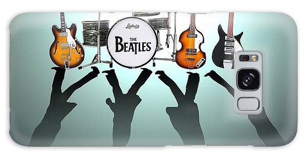 Drum Galaxy S8 Case - The Beatles by Lena Day