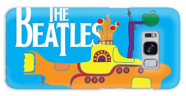 Music Galaxy S8 Case - The Beatles No.11 by Geek N Rock