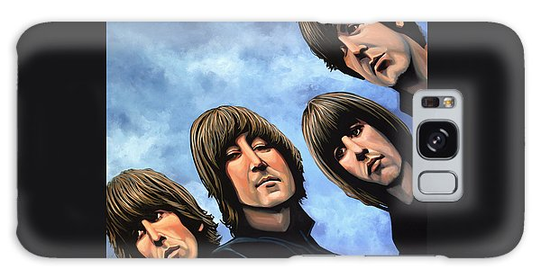 The Beatles Rubber Soul Galaxy Case by Paul Meijering