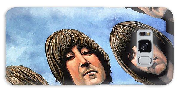 Cd Galaxy Case - The Beatles Rubber Soul by Paul Meijering