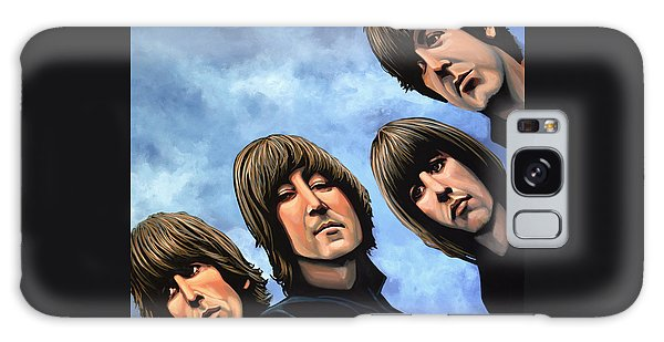 Rock And Roll Galaxy S8 Case - The Beatles Rubber Soul by Paul Meijering